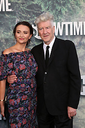 May 19, 2017 - Los Angeles, CA, USA - LOS ANGELES - MAY 19:  Emily Stofle, David Lynch at the ''Twin Peaks'' Premiere Screening at The Theater at Ace Hotel on May 19, 2017 in Los Angeles, CA (Credit Image: © Kay Blake via ZUMA Wire)