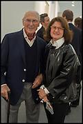 LEONARD SLOTOVER; JILL RITBLAT, Opening of Frieze art Fair. London. 14 October 2014