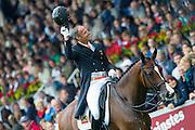 Patrick van der Meer - Uzzo<br /> FEI European Championships Aachen 2015<br /> © DigiShots