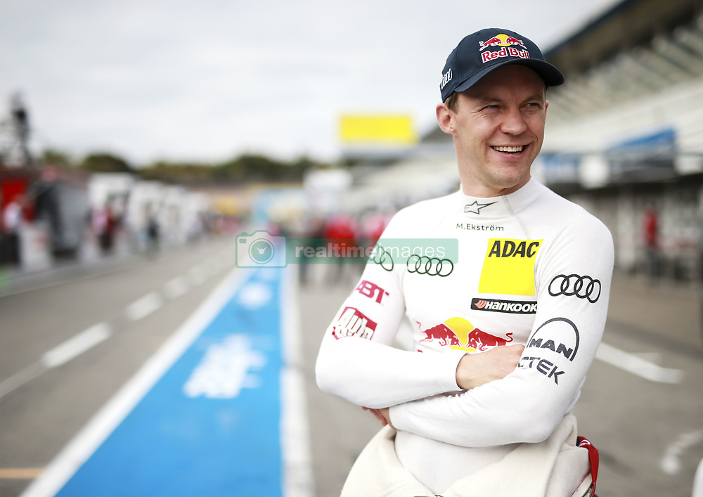 October 13, 2017 - Hockenheim, Germany - Motorsports: DTM Hockenheim-II 2017,.Mattias Ekstroem. (Credit Image: © Hoch Zwei via ZUMA Wire)