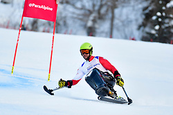 Super Combined and Super G, SIKORSKI Igor, LW11, POL at the WPAS_2019 Alpine Skiing World Championships, Kranjska Gora, Slovenia