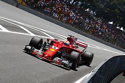 November 12, 2017 - Sao Paulo, Brazil - Motorsports: FIA Formula One World Championship 2017, Grand Prix of Brazil, ..#5 Sebastian Vettel (GER, Scuderia Ferrari) (Credit Image: © Hoch Zwei via ZUMA Wire)