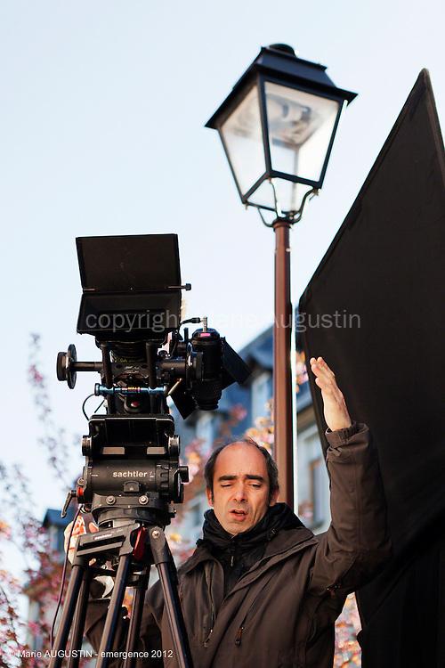 """Sébastien BUCHMANN, chef opérateur - tournage scène libre """"Paris-Brest"""" de Benoît BOURREAU - emergence 2012"""