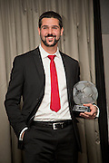Julian Speroni with DundeeFC Hall of Fame International award at the Apex Hotel<br /> <br />  - &copy; David Young - www.davidyoungphoto.co.uk - email: davidyoungphoto@gmail.com