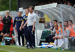 Bristol Rovers Manager, Darrell Clarke - Photo mandatory by-line: Dougie Allward/JMP - Mobile: 07966 386802 26/04/2014 - SPORT - FOOTBALL - High Wycombe - Adams Park - Wycombe Wanderers v Bristol Rovers - Sky Bet League Two