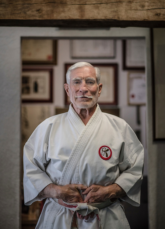 rer06027d/sports/June 02, 2017/Albuquerque Journal<br /> Albuquerque's Ray Barrera Jr(Cq), has been named one of the United States' 50 most influential practitioners of the martial arts by a major martial arts publication. <br />  Roberto E. Rosales/Albuquerque Journal