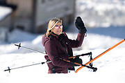 Fotosessie met de koninklijke familie in Lech /// Photoshoot with the Dutch royal family in Lech .<br /> <br /> Op de foto/ On the photo: Koningin Maxima ///// Queen Maxima
