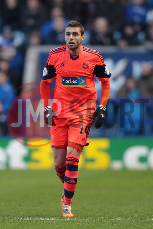 Bolton Wanderers' Andre Moritz - Photo mandatory by-line: Nigel Pitts-Drake/JMP - Tel: Mobile: 07966 386802 29/12/2013 - SPORT - FOOTBALL - King Power Stadium - Leicester - Leicester City v Bolton Wanderers - Sky Bet Championship