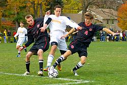 In boys soccer, the final score was Germantown Academy 2, Penn Charter 1.