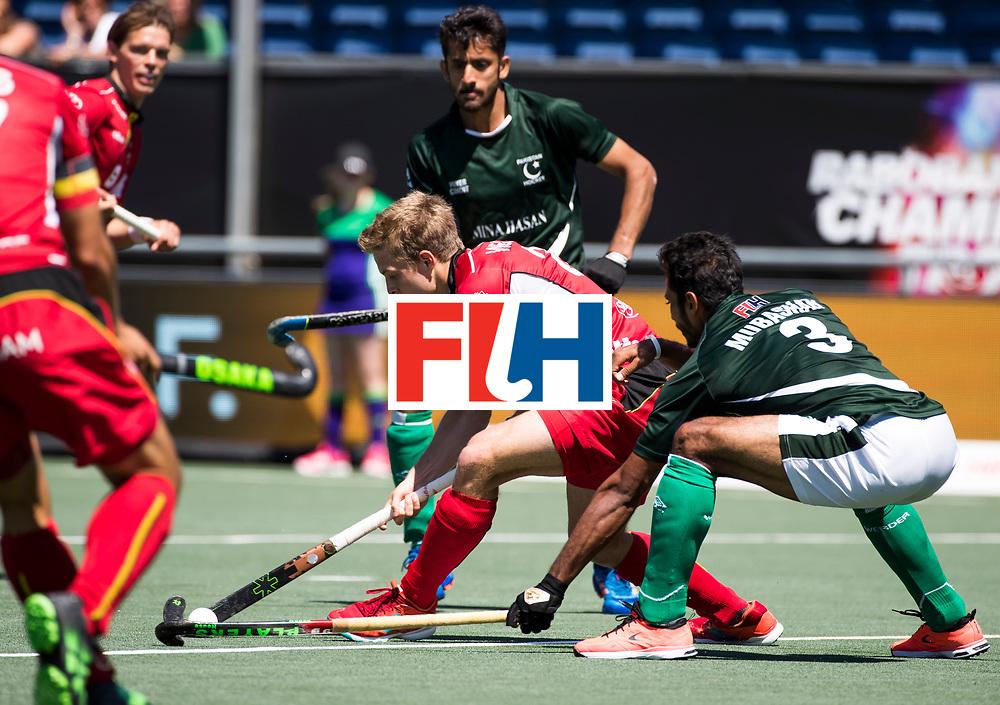 BREDA -  Victor Wegnez (Bel) . Belgie-Pakistan om de 5e plaats COPYRIGHT  KOEN SUYK