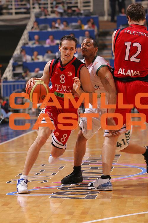 DESCRIZIONE : Atene Athens Eurolega Euroleague 2006-07 Final Four Finale 3-4 posto Unicaja Malaga Tau Vitoria <br /> GIOCATORE : Rakocevic <br /> SQUADRA : Tau Vitoria <br /> EVENTO : Eurolega 2006-2007 Final Four Finale 3-4 posto <br /> GARA : Unicaja Malaga Tau Vitoria <br /> DATA : 06/05/2007 <br /> CATEGORIA : Penetrazione <br /> SPORT : Pallacanestro <br /> AUTORE : Agenzia Ciamillo-Castoria/S.Silvestri
