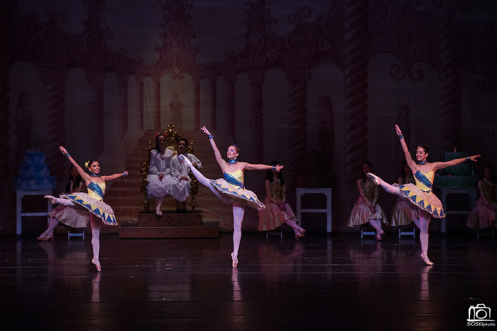 Bay Pointe Ballet performs The Nutcracker at the San Mateo Performing Arts Center in San Mateo, California, on December 14, 2014. (Stan Olszewski/SOSKIphoto)