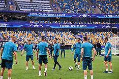 Real Madrid Training - 25 May 2018