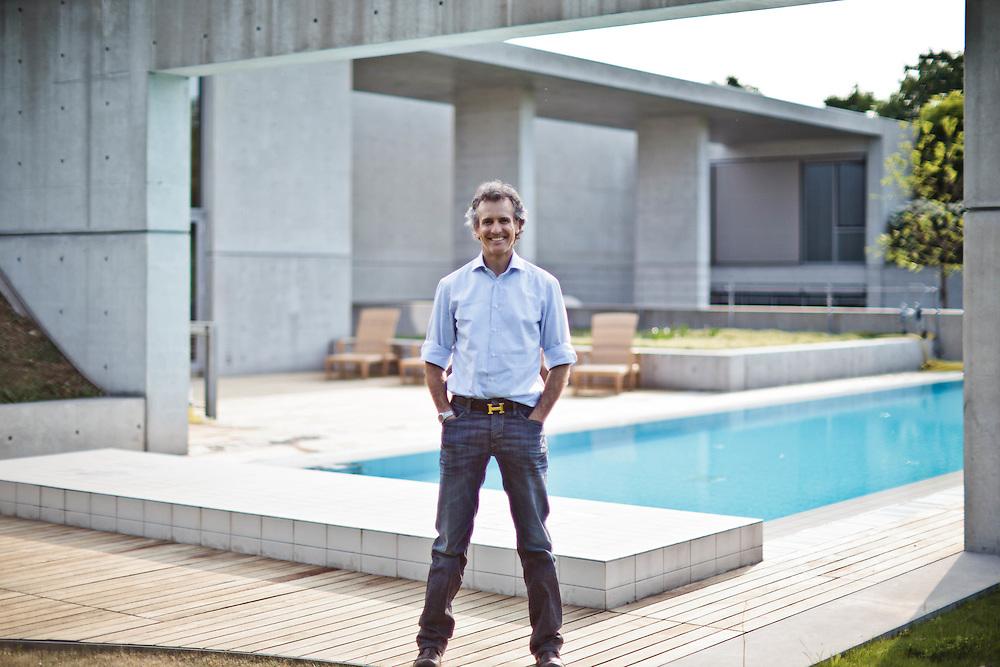 13 MAY 2011 - Alessandro Benetton nella propria casa di Ponzano :-: