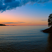 &quot;Chasing Sunset&quot;<br /> <br /> If you love beautiful and peaceful sunsets, then this one is for you! A lovely sunset and silhouette on the shores of Lake Superior!