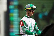 November 1-3, 2018: Breeders' Cup Horse Racing World Championships. Jockey Corey Lanerie