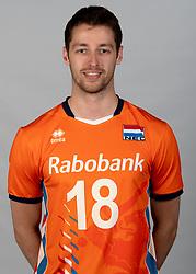 14-05-2018 NED: Team shoot Dutch volleyball team men, Arnhem<br /> Robbert Andringa #18 of Netherlands