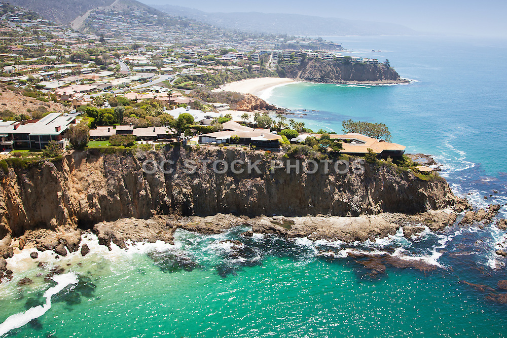 Abalone Point and Emerald Point of Laguna Beach Aerial Photo