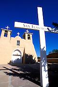 Morning light on San Francisco de Asis Mission Church, Rancho de Taos, New Mexico.