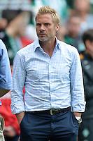 FUSSBALL   1. BUNDESLIGA   SAISON 2012/2013   2. Spieltag SV Werder Bremen - Hamburger SV                     01.09.2012         Trainer Thorsten Fink (Hamburger SV) ist nach dem Abpfiff enttaeuscht