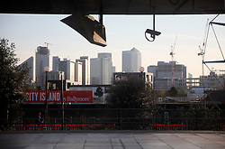 UK ENGLAND LONDON 20APR15 - Canning Town DLR station and City Island development in the Docklands, London.<br /> <br /> jre/Photo by Jiri Rezac<br /> <br /> © Jiri Rezac 2015