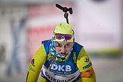 &Ouml;STERSUND, SVERIGE - 2017-12-03:Emma Nilsson under damernas jaktstart t&auml;vling under IBU World Cup Skidskytte p&aring; &Ouml;stersunds Skidstadion den 1 december 2017 i &Ouml;stersund, Sverige.<br /> Foto: Johan Axelsson/Ombrello<br /> ***BETALBILD***
