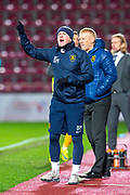 Livingston assistant manager David Martindale during the Ladbrokes Scottish Premiership match between Heart of Midlothian FC and Livingston FC at Tynecastle Park, Edinburgh, Scotland on 4 December 2019.