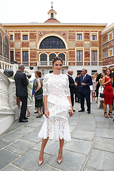June 19, 2017 - Monaco, Monaco - 57th Monte-Carlo Television Festival cocktail at the Palace of Monaco. Christine Evangelista. (Credit Image: © Visual via ZUMA Press)
