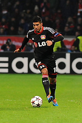 27.11.2013, BayArena, Leverkusen, GER, UEFA CL, Bayer Leverkusen vs Manchester United, Gruppe A, im Bild Emre Can ( Bayer 04 Leverkusen / Freisteller ) // during UEFA Champions League group A match between Bayer Leverkusen vs Manchester United at the BayArena in Leverkusen, Germany on 2013/11/28. EXPA Pictures © 2013, PhotoCredit: EXPA/ Eibner-Pressefoto/ Thienel<br /> <br /> *****ATTENTION - OUT of GER*****
