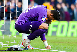 Kelle Roos of Derby County looks dejected at full time - Mandatory by-line: Ryan Crockett/JMP - 11/05/2019 - FOOTBALL - Pride Park Stadium - Derby, England - Derby County v Leeds United - Sky Bet Championship Play-off Semi Final 1st Leg