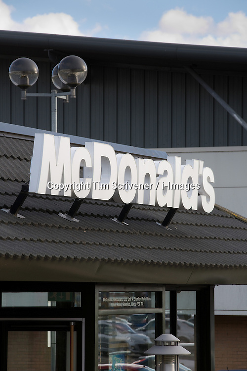 Fast-food giant McDonald's reports Q3 financial results, October 19, 2012, Photo by Tim Scrivener / i-Images.