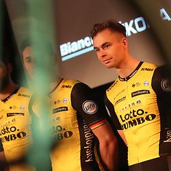 22-12-2017: Wielrennen: Presentatie Lotto Jumbo: Veghel<br />Bert Jan Lindeman gaat voor de heuvelklassiekers in het voorjaar en ritwinst in de Vuelta