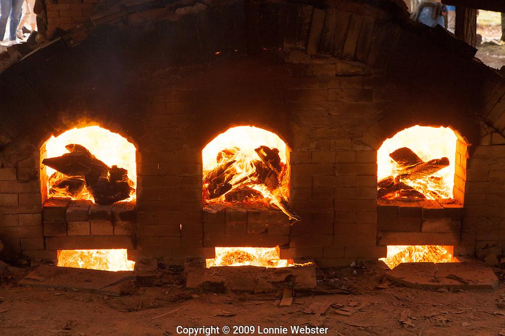 Wood Fired Kiln at Hart Square