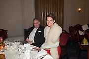 THE DUKE OF RUTLAND; ANDREA DUBEUX-WEBB, The Royal Caledonian Ball 2017, Grosvenor House, 29 April 2017