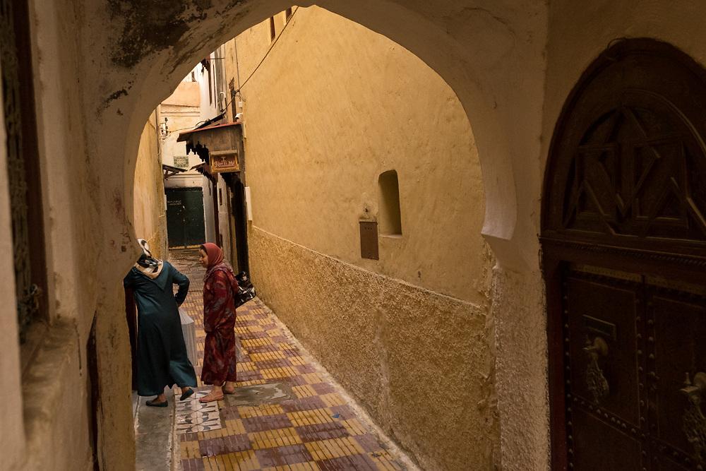 Street scenes in medina in Meknes, Morocco Africa Aug 13, 2016. Photo Ken Cedeno