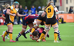 Poppy Leitch of Bristol Bears Women with the ball - Mandatory by-line: Paul Knight/JMP - 12/10/2019 - RUGBY - Shaftesbury Park - Bristol, England - Bristol Bears Women v Wasps Ladies - Tyrrells Premier 15s
