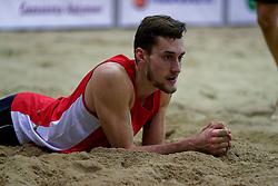 04-01-2020 NED: NK Beach volleyball Indoor, Aalsmeer<br /> Cain van Hal #1