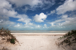 Clouds build over Eighty Mile Beach in the Kimberley wet season