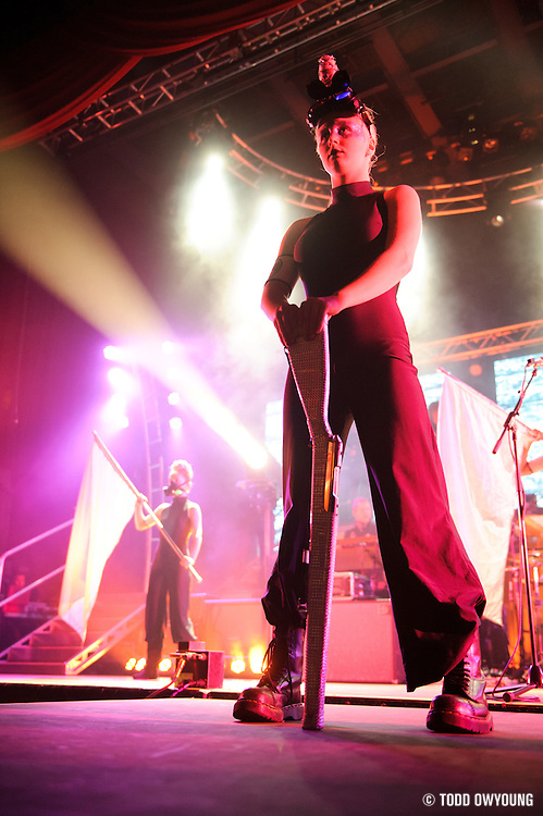Pink Floyd tribute band El Monstero performing at the Pageant in St. Louis on December 16, 2011.