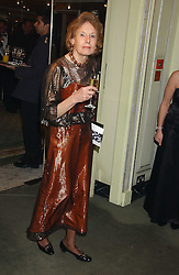 LADY HALIFAX at the Diamonds Are Forever charity ball in aid of the Motor Neurone Disease Association and Cancer Research UK held at The Dorchester, Park Lane, London on 11th March 2006.<br /><br />NON EXCLUSIVE - WORLD RIGHTS