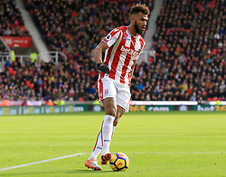 Eric Maxim Choupo-Moting of Stoke City - Mandatory by-line: Paul Roberts/JMP - 04/11/2017 - FOOTBALL - Bet365 Stadium - Stoke-on-Trent, England - Stoke City v Leicester City - Premier League