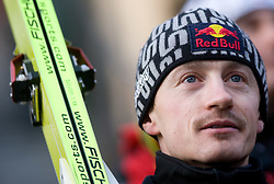 Adam Malysz of Poland after he competed during Final round of the FIS Ski Jumping World Cup event of the 58th Four Hills ski jumping tournament, on January 3, 2010 in Bergisel, Innsbruck, Austria.(Photo by Vid Ponikvar / Sportida)