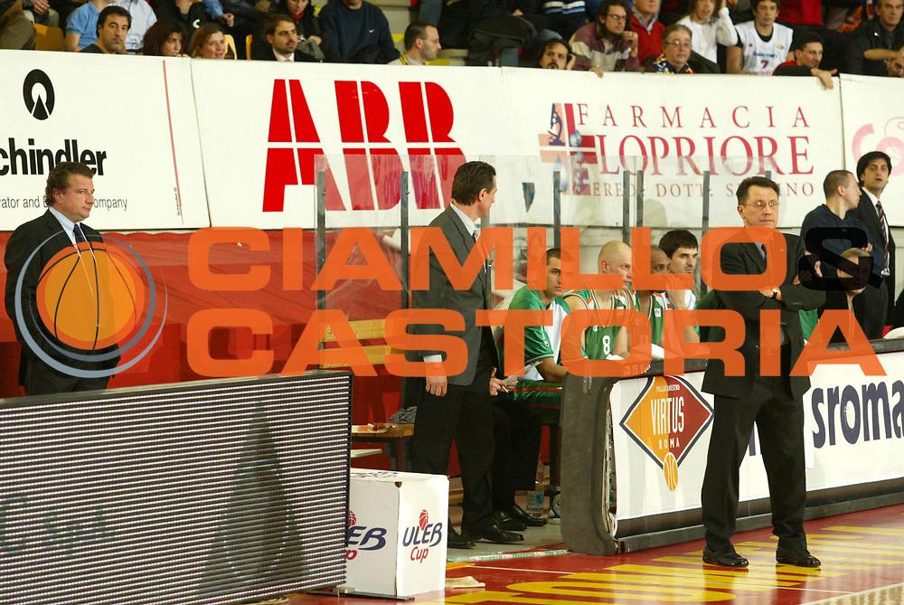 DESCRIZIONE : Roma Uleb Cup 2005-06 Lottomatica Virtus Roma Unics Kazan <br /> GIOCATORE : Team Kazan <br /> SQUADRA : Unics Kazan <br /> EVENTO : Uleb Cup 2005-2006 <br /> GARA : Lottomatica Virtus Roma Unics Kazan <br /> DATA : 31/01/2006 <br /> CATEGORIA : Ritratto <br /> SPORT : Pallacanestro <br /> AUTORE : Agenzia Ciamillo-Castoria/G.Ciamillo