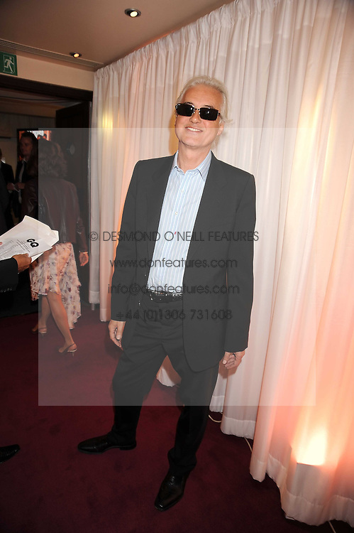 JIMMY PAGE at the GQ Men of the Year Awards held at the Royal Opera House, London on 2nd September 2008.<br /> <br /> NON EXCLUSIVE - WORLD RIGHTS