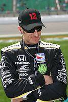 Tomas Scheckter, Road Runner Turbo Indy 300, Kansas Speedway, Kansas City, KS USA 27/4/08