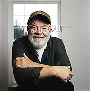 Author Gary Paulsen is photographed for a Self Assignment. 2006<br /> EXCLUSIVLY AVAILABLE ON CONTOUR IMAGES<br /> WWW.CONTOURPHOTOS.COM