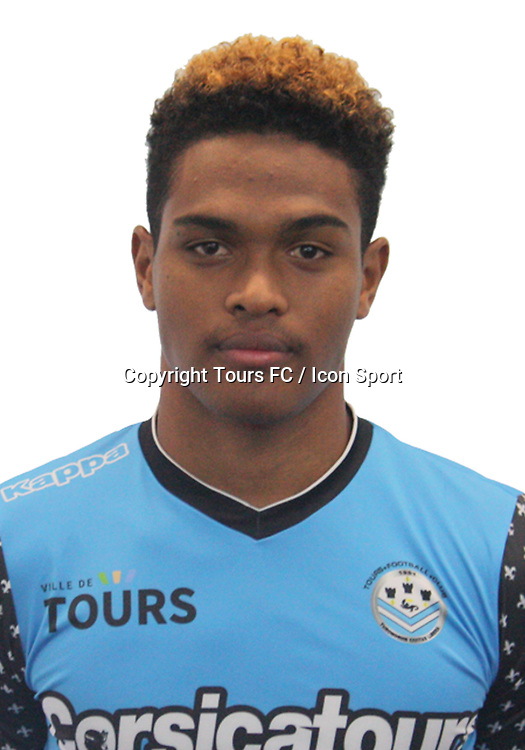 Rayan Raveloson during the during photoshooting of Tours FC for new season 2017/2018 on October 5, 2017 in Tours, France<br /> Photo : Tours FC / Icon Sport