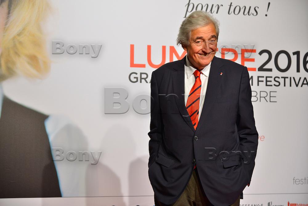 Jean Loup Dabadie<br /> Lyon 8 oct 2016 - Festival Lumi&egrave;re 2016 - C&eacute;r&eacute;monie d&rsquo;Ouverture<br /> 8th Film Festival Lumiere In Lyon : Opening Ceremony