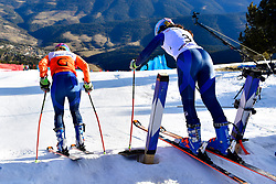 FITZPATRICK Menna, Guide: KEHOE Jennifer, B2, GBR, Giant Slalom at the WPAS_2019 Alpine Skiing World Cup, La Molina, Spain