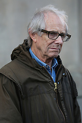 © Licensed to London News Pictures. 19/08/2016. Sheffield, UK. English film director Ken Loach at a Jeremy Corbyn campaign rally in Sheffield, South Yorkshire, during the 2016 Labour leadership election. Photo credit : Ian Hinchliffe/LNP